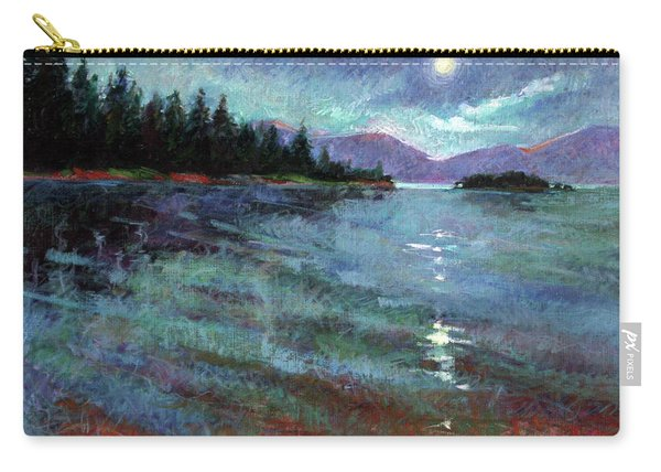 Moon Over Pend Orielle Carry-all Pouch