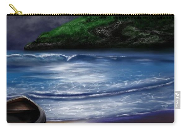 Moon Over The Cove Carry-all Pouch