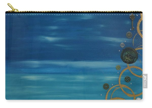 Moon Over Water Carry-all Pouch