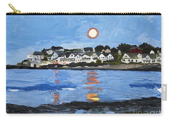 Moon Over York Beach Carry-all Pouch