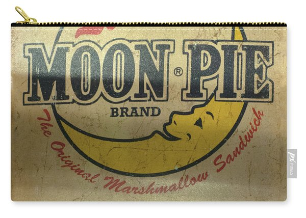 Moon Pie Antique Sign Carry-all Pouch
