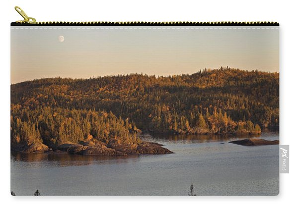 Moon Rise Over Pukaskwa Carry-all Pouch