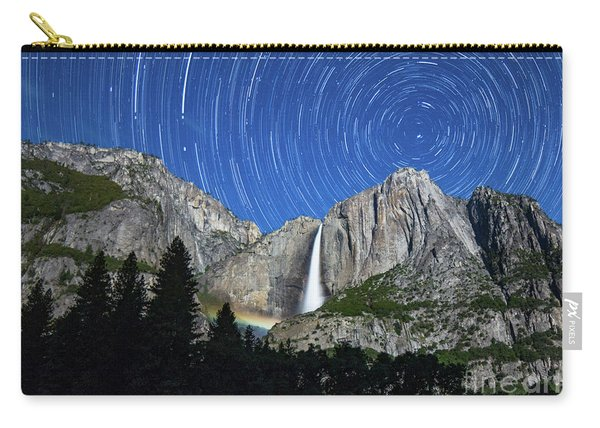 Moonbow And Startrails  Carry-all Pouch