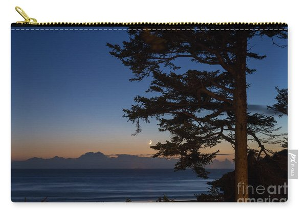 Moonlight At The Beach Carry-all Pouch