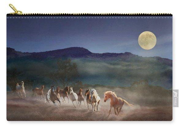 Moonlight Run Carry-all Pouch