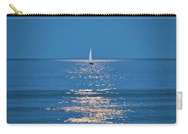 Moonlight Sail 2 - Ogunquit Beach - Maine Carry-all Pouch