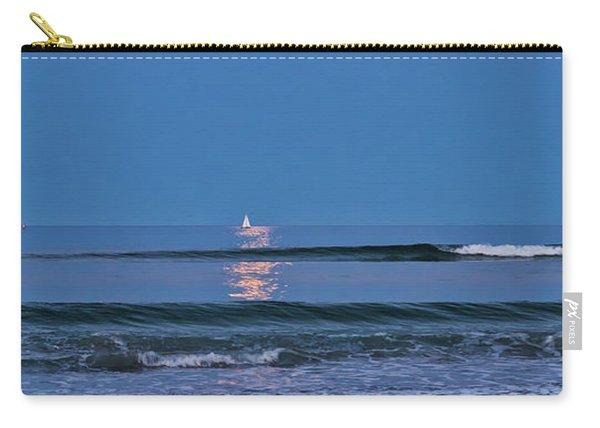 Moonlight Sail 3 - Ogunquit Beach - Maine Carry-all Pouch