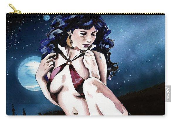 Moonlight Vampirella Carry-all Pouch