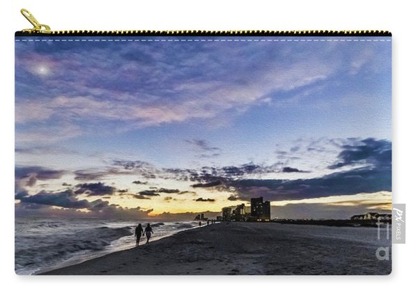 Moonlit Beach Sunset Seascape 0272c Carry-all Pouch
