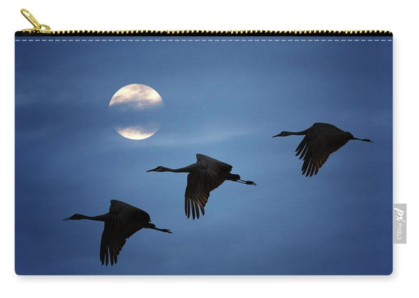 Moonlit Flight Carry-all Pouch
