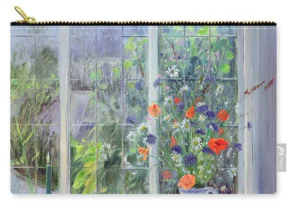 Moonlit Flowers Carry-all Pouch