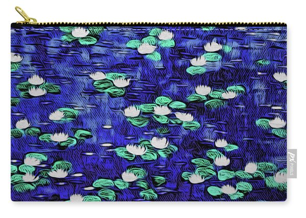 Moonlit Nymphaea Carry-all Pouch