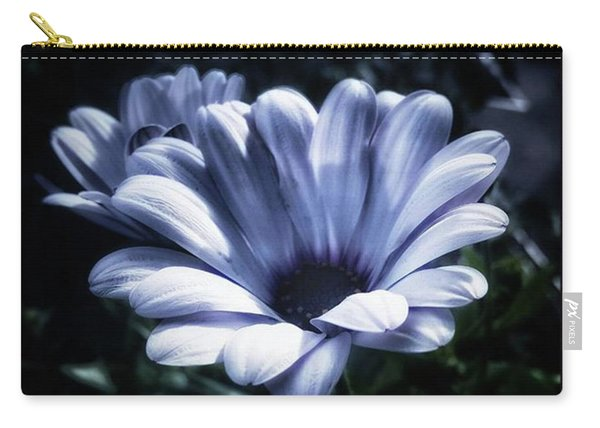 Carry-all Pouch featuring the photograph Moonlit Petals. From The Beautiful by Mr Photojimsf