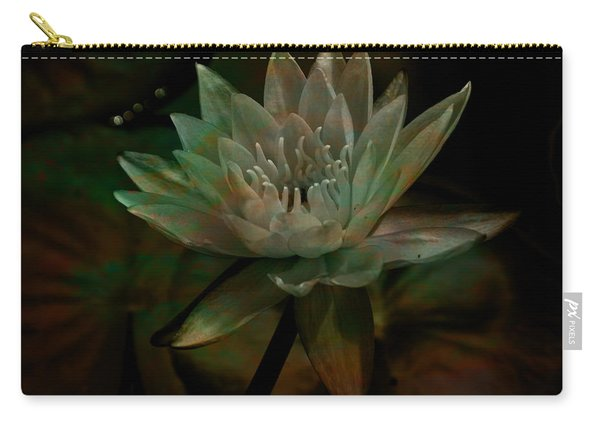 Moonlit Water Lily Carry-all Pouch