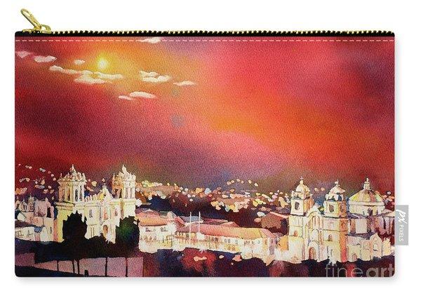 Moonrise Cusco- Peru Carry-all Pouch