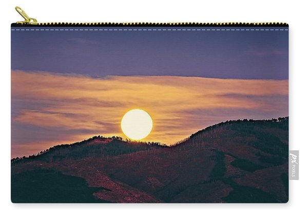 Moonrise In Northern New Mexico  Carry-all Pouch