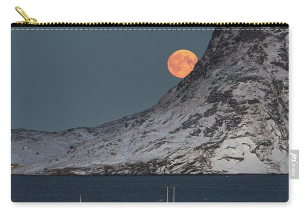 Moonrise In Reine Carry-all Pouch