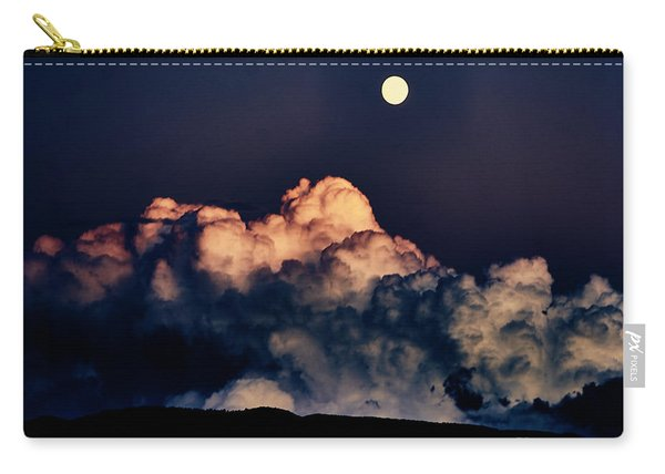 Moonrise In Taos Carry-all Pouch