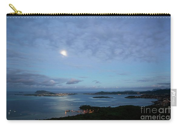 Moonrise Over Kaneohe Bay Carry-all Pouch