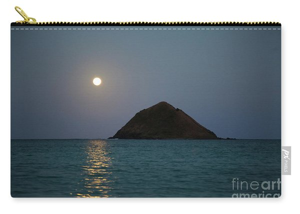 Moonrise Over Moku Iki Carry-all Pouch