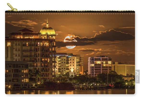 Moonrise Over Sarasota Carry-all Pouch
