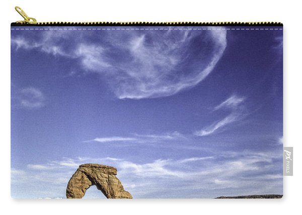 Moonset Delicate Arch Carry-all Pouch