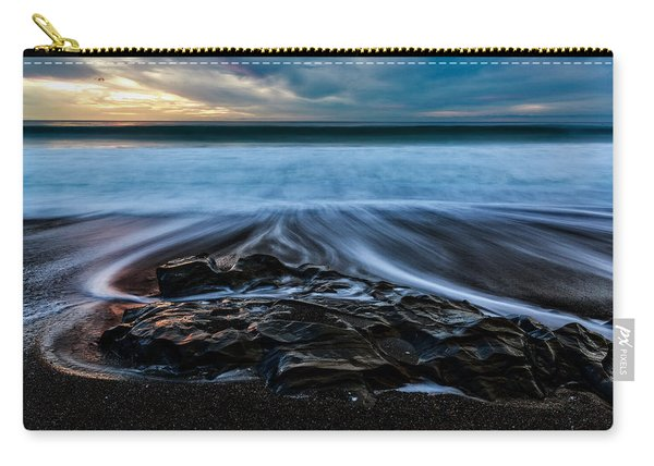 Moonstone Beach In The New Year Carry-all Pouch