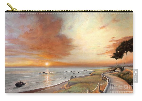 Moonstone Cambria Sunset Carry-all Pouch