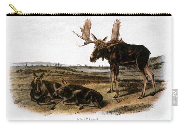 Moose Deer (cervus Alces) Carry-all Pouch
