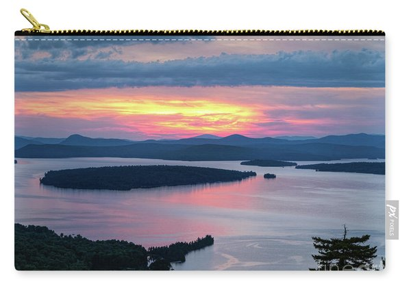 Mooselookmeguntic Lake In The Last Light Of Day - Rangeley Me  -63430 Carry-all Pouch