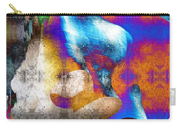 Carry-all Pouch featuring the photograph Mopop by Michael Hope