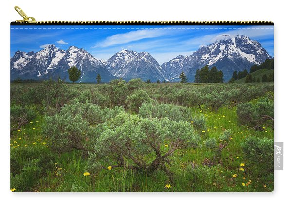 Moran Meadows Carry-all Pouch