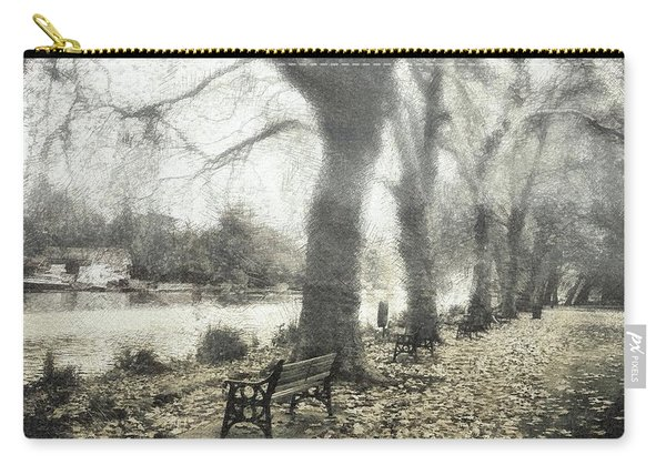 More Than A Bit Arty Carry-all Pouch