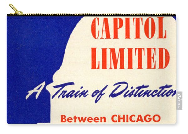 More Than Ever, The Capitol Limited Carry-all Pouch