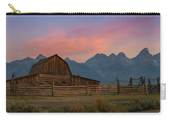 Mormon Row Sunrise Panorama Carry-all Pouch