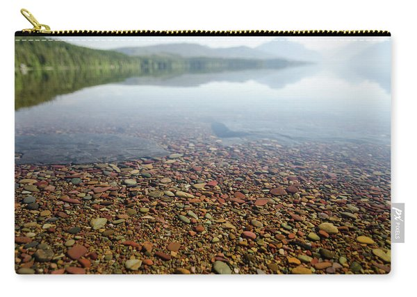 Morning At Lake Mcdonald Carry-all Pouch
