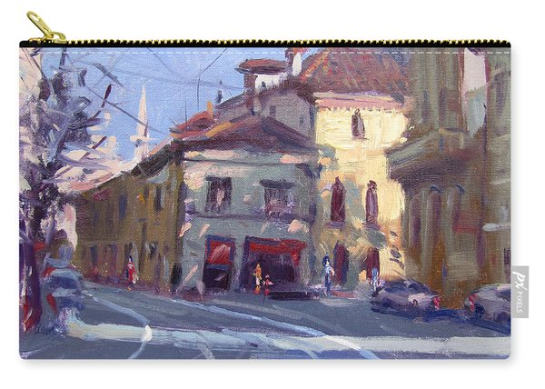Morning At Padua Italy Carry-all Pouch