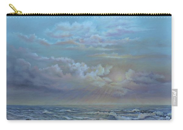 Morning At The Ocean Carry-all Pouch