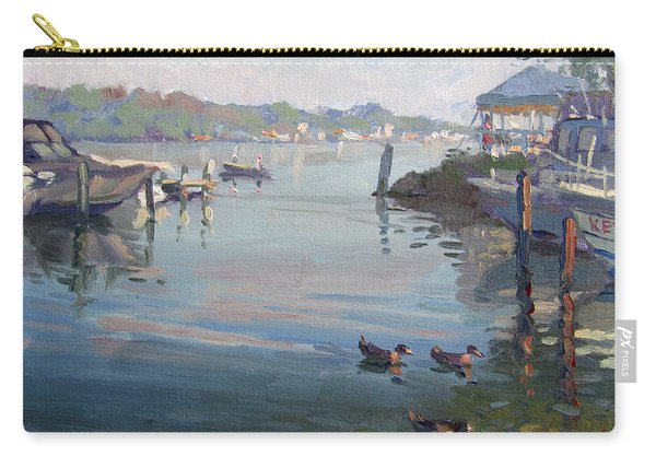 Morning At The Shores Carry-all Pouch
