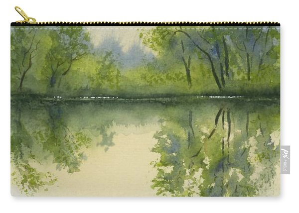 Morning At Turtle Pond Carry-all Pouch
