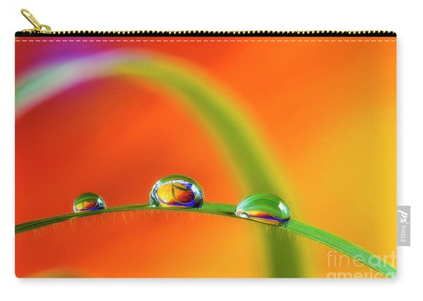 Morning Dewdrops Carry-all Pouch