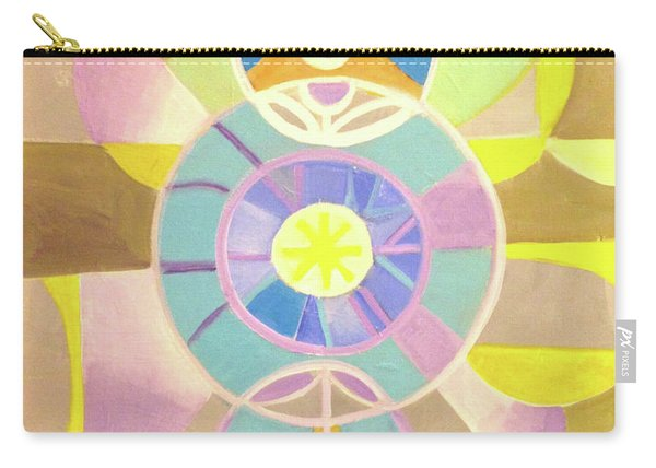 Morning Glory Geometrica Carry-all Pouch