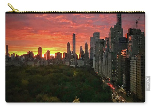 Morning In The City Carry-all Pouch