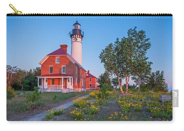 Morning Light At Au Sable Point Carry-all Pouch