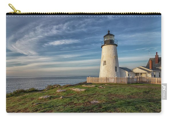 Morning Light At Pemaquid Point Carry-all Pouch