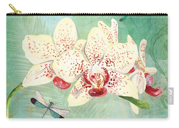 Morning Light - Dancing Dragonflies Carry-all Pouch