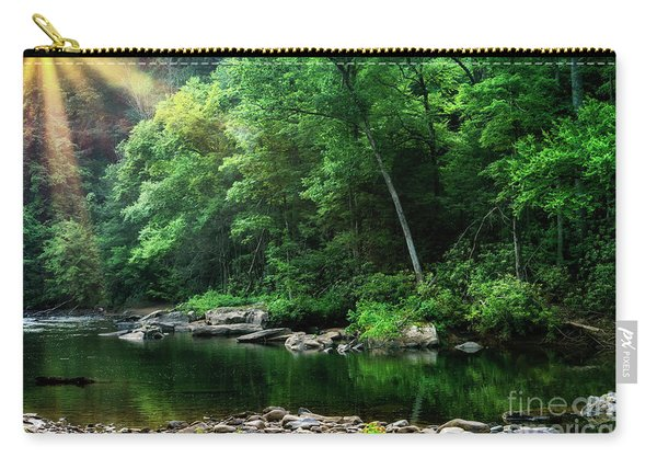 Morning Light On Williams River  Carry-all Pouch