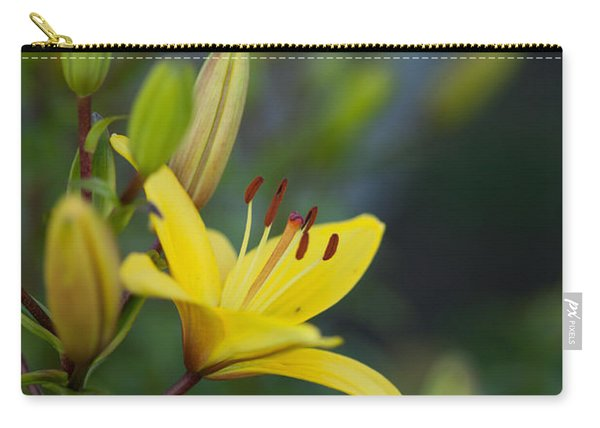 Morning Lily Carry-all Pouch