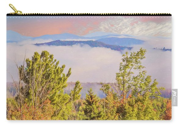 Morning Mountain View Northern New Hampshire. Carry-all Pouch