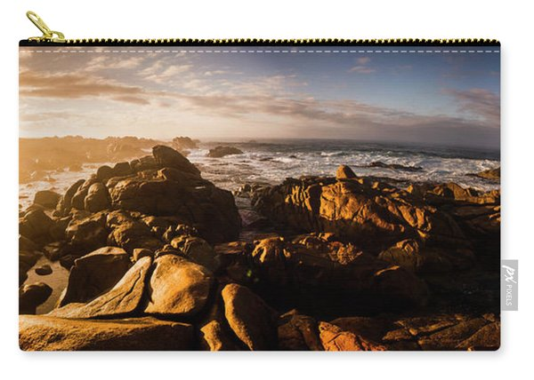 Morning Ocean Panorama Carry-all Pouch